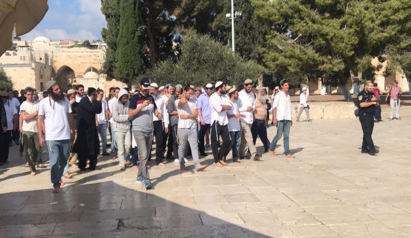 Gerusalemme, decine di coloni invadono al-Aqsa per la festa del Kippur