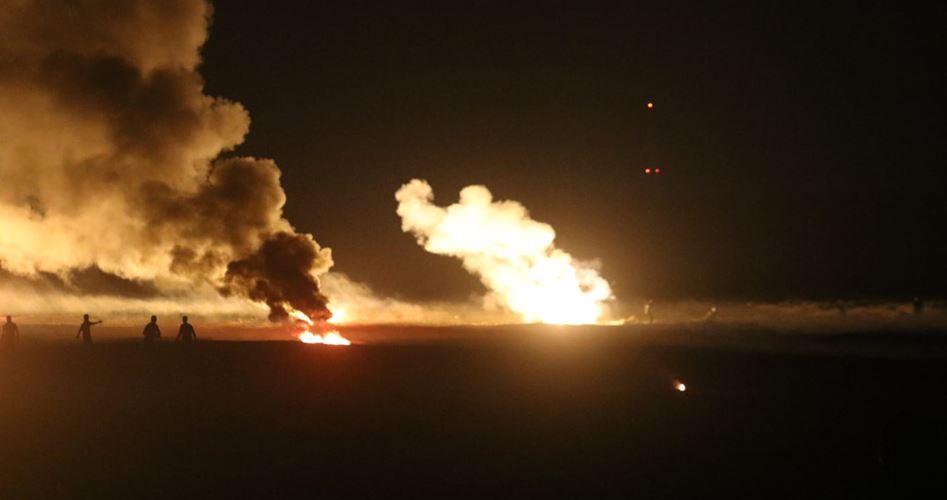 Attacco aereo israeliano contro il sud della Striscia di Gaza