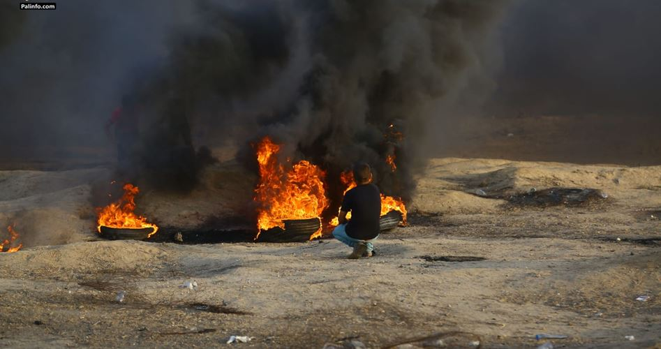 Striscia di Gaza, un Palestinese ucciso e centinaia tra feriti e asfissiati dalle forze israeliane