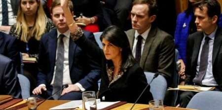 Nikki Haley: il diritto al ritorno palestinese dovrebbe essere fuori dal tavolo dei negoziati