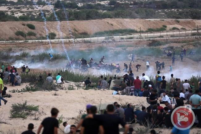 Feriti segnalati al confine est di Gaza