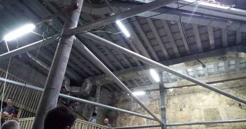 Istantanee dal vivo rivelano scavi segreti israeliani sotto la moschea al-Aqsa