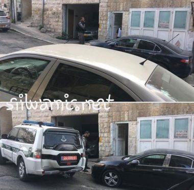 Polizia israeliana e impiegati del comune di Gerusalemme invadono Silwan e fotografano edifici