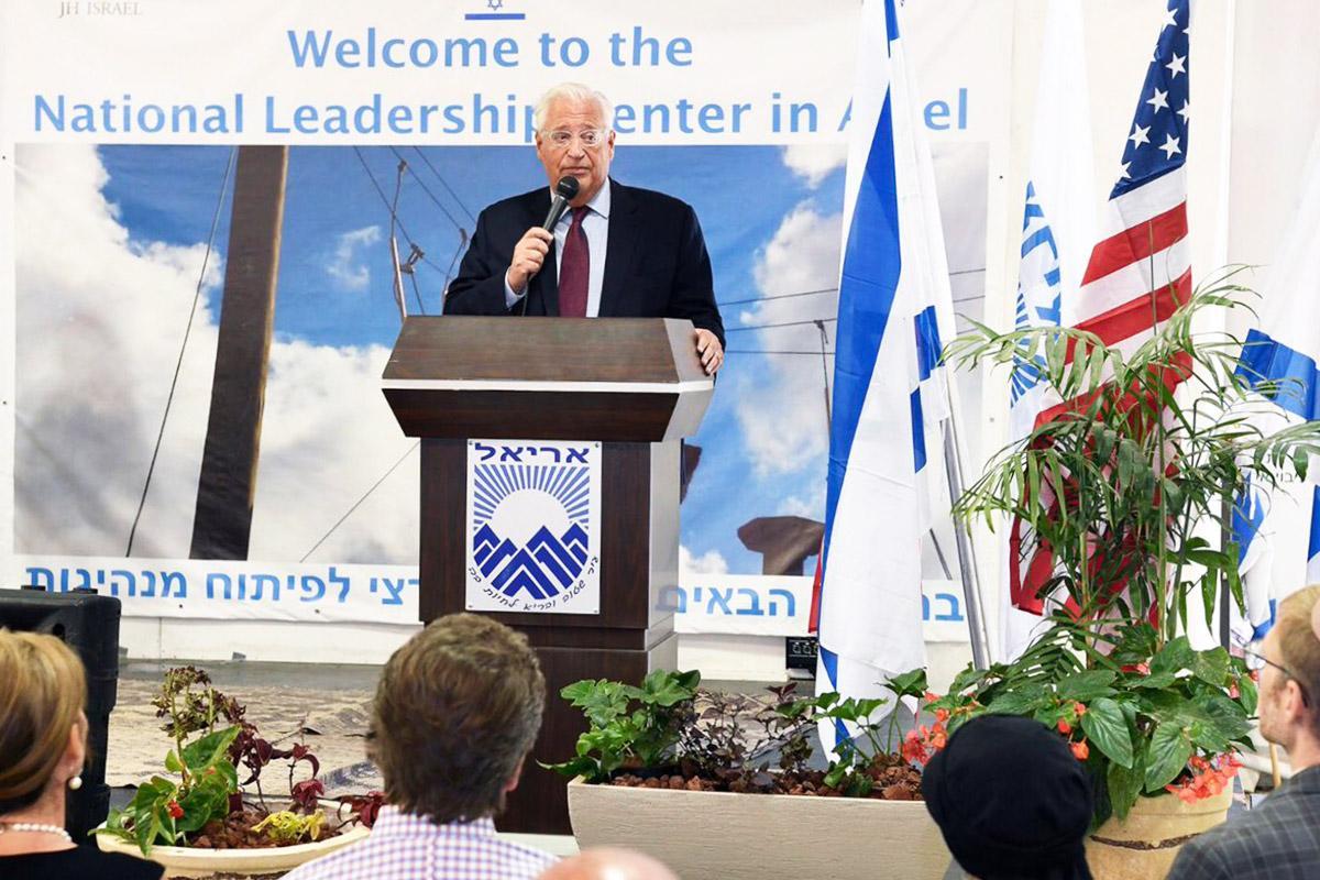 Gruppo ebraico-statunitense per la pace condanna la visita dell'ambasciatore USA in un colonia israeliana