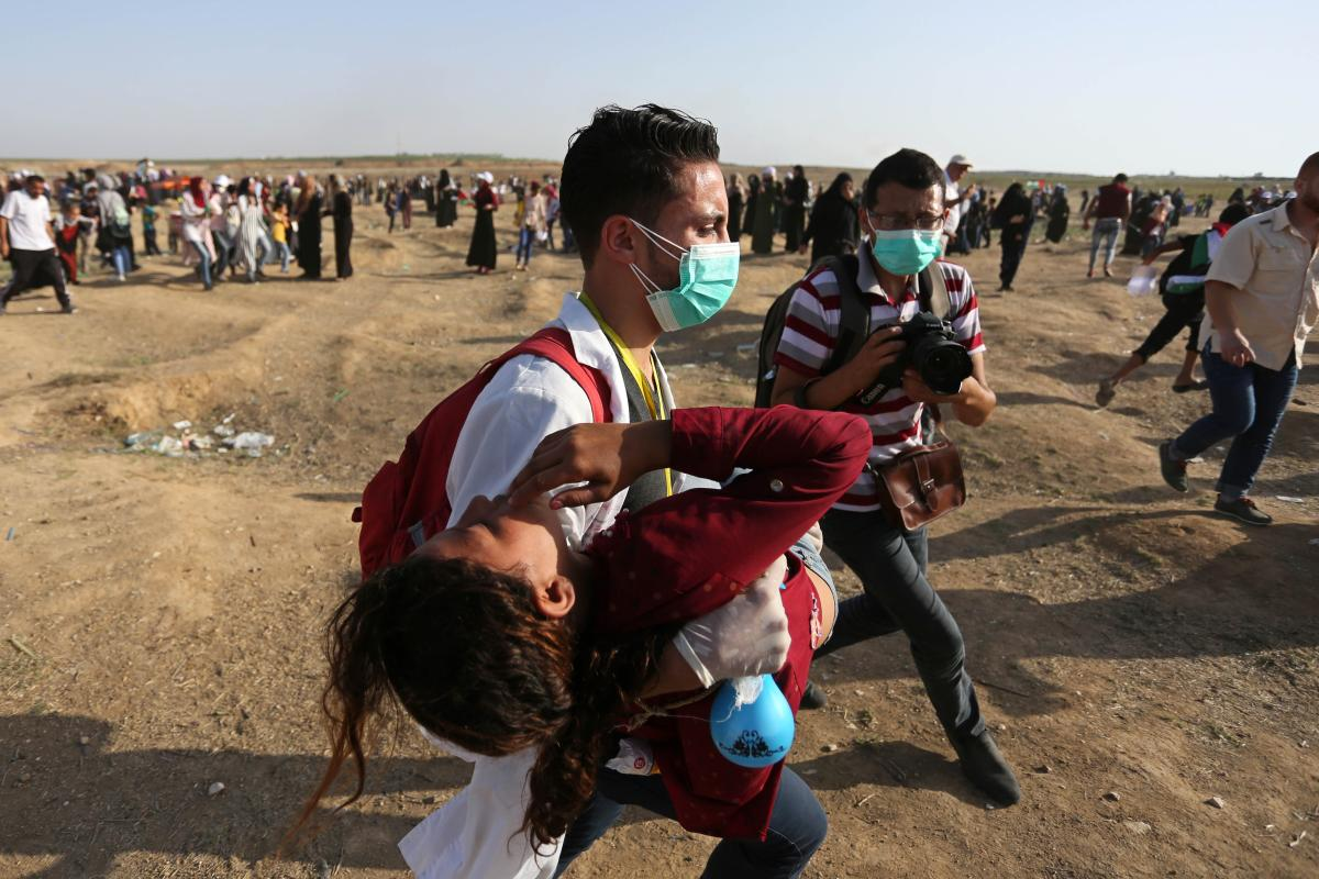 B'Tselem documenta omicidio di un paramedico a Gaza