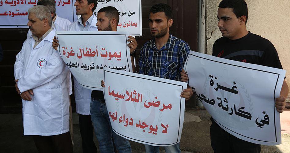 Pazienti di Gaza a rischio di morte per mancanza di medicinali
