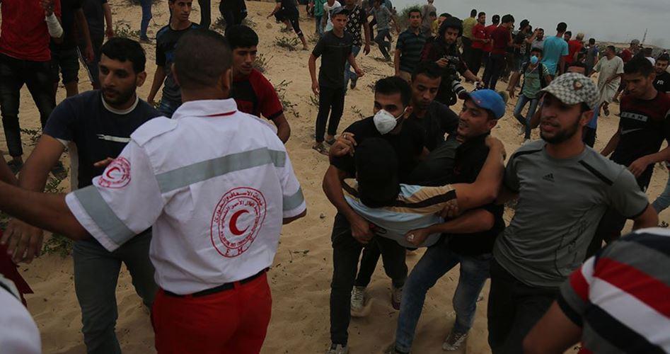 Striscia di Gaza, 93 palestinesi feriti dalle forze israeliane