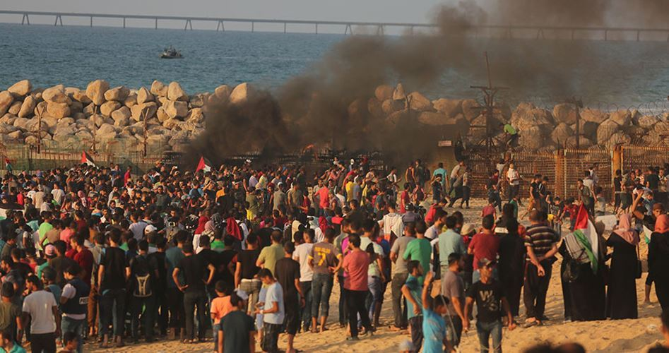 Striscia di Gaza, manifestazione marittima contro l'assedio: 19 palestinesi feriti