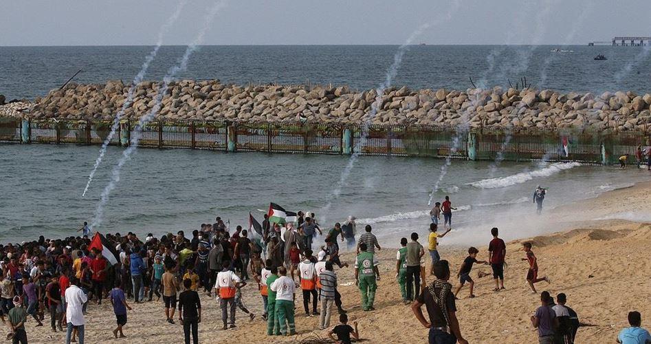 Striscia di Gaza, 13ª protesta navale contro l'assedio: 20 palestinesi feriti dai soldati israeliani