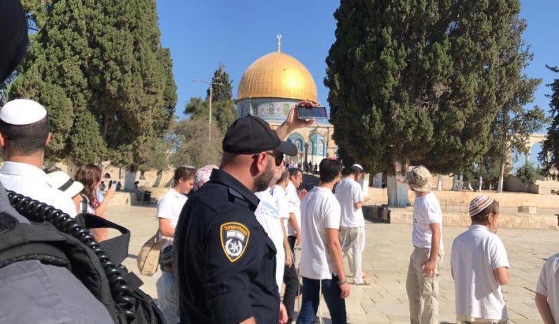 Gerusalemme, 129 coloni invadono al-Aqsa