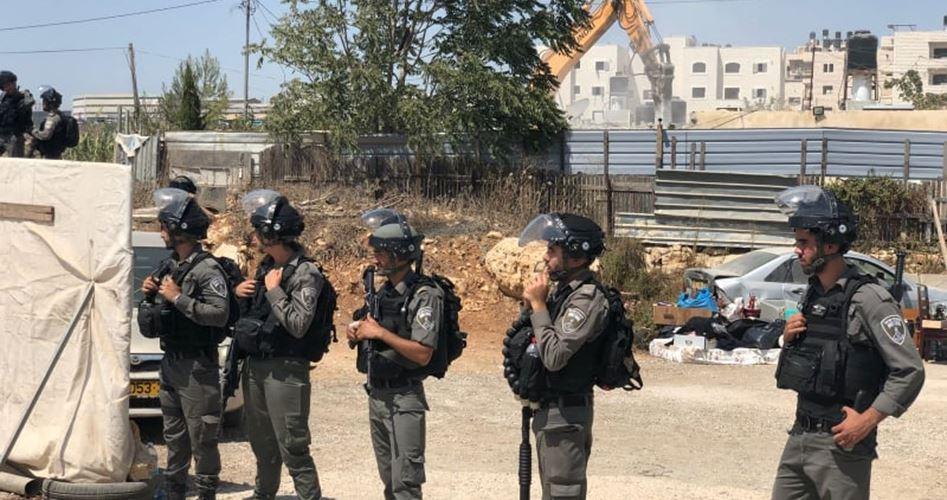 L'occupazione israeliana trasforma le strutture palestinesi in cumuli di macerie