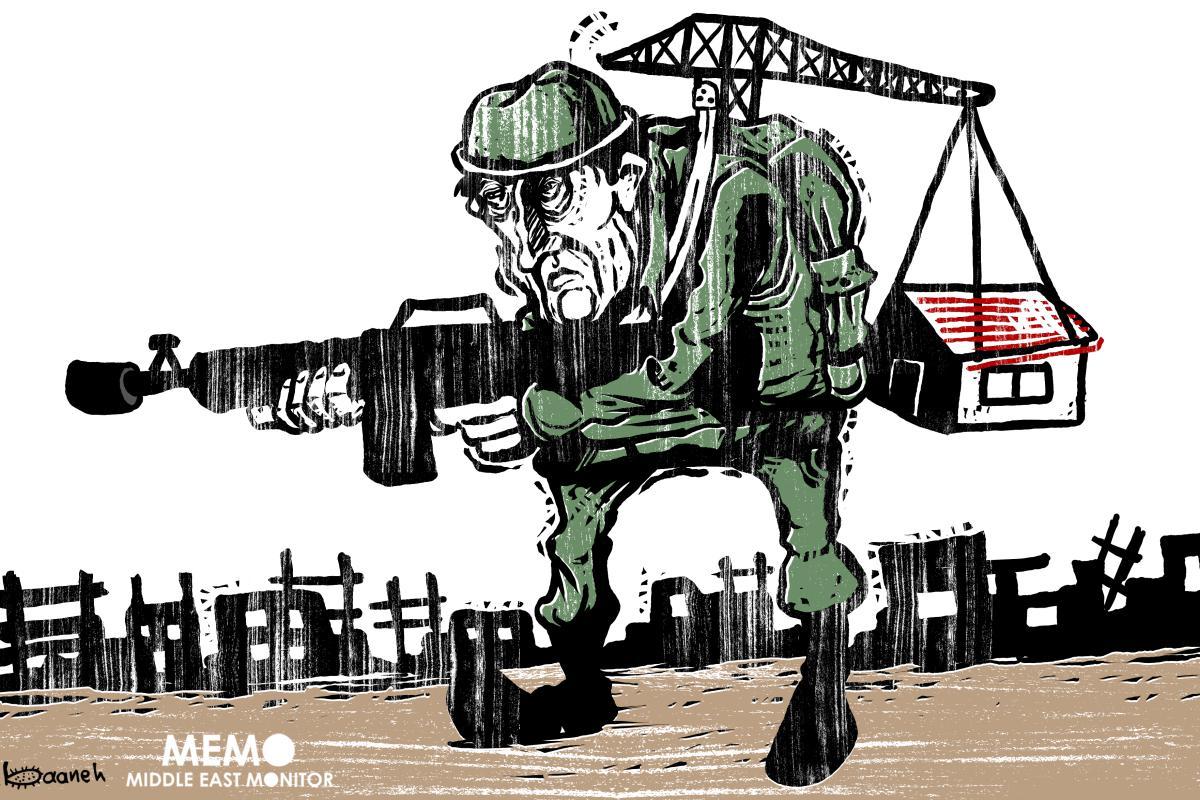 La costruzione di insediamenti illegali israeliani è più che raddoppiata nel 2018