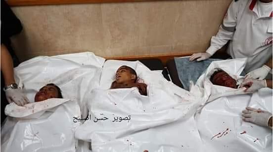 Striscia di Gaza, bombardamento israeliano uccide 3 bambini palestinesi