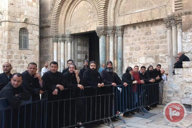 Il Consiglio delle chiese di Ramallah condanna l'assalto israeliano ai preti copti
