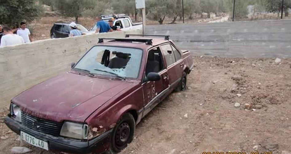 Coloni terrorizzano nativi palestinesi a ovest di Salfit