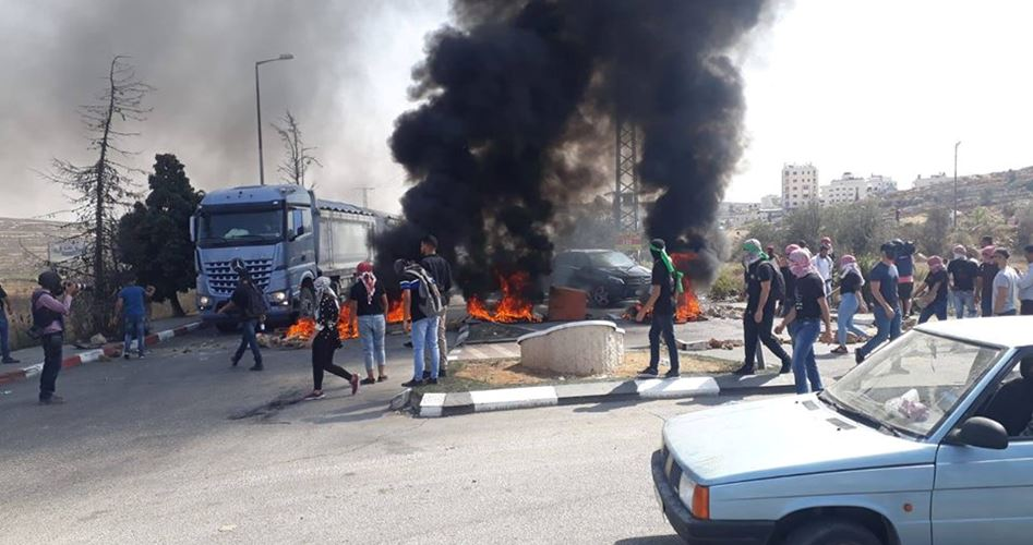 Le forze di occupazione uccidono un palestinese e ne feriscono 8 vicino a Ramallah
