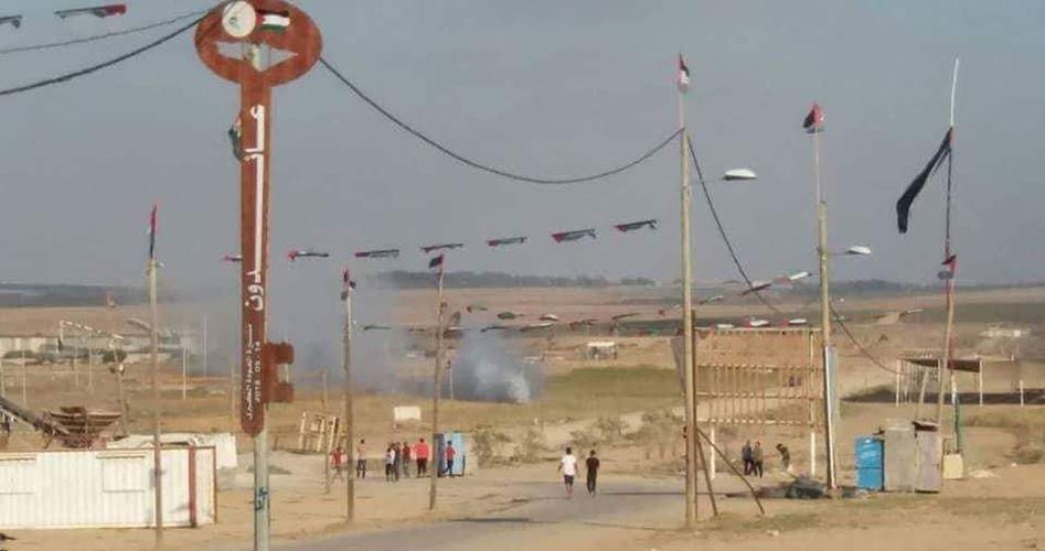 Drone israeliano lancia missile contro gruppo di gazawi