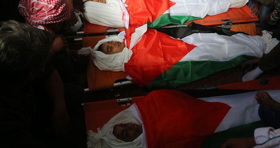 52 minorenni, la maggior parte di Gaza, uccisi da Israele nel 2018