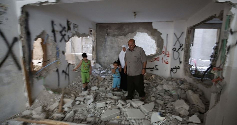 La recente offensiva israeliana contro Gaza ha danneggiato 1252 unità abitative