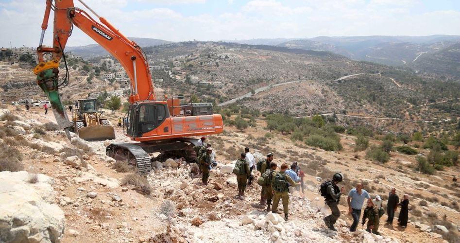 Attività coloniali israeliane procedono ad alta velocità