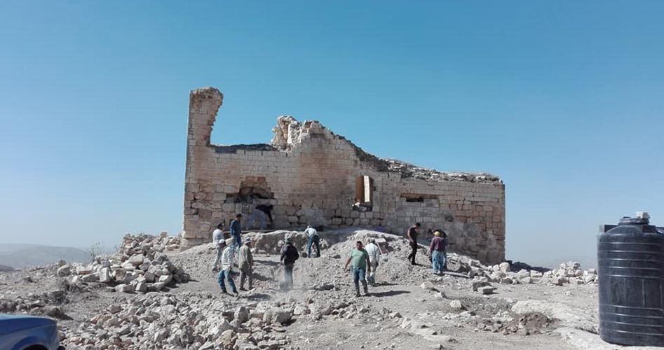 L'occupazione israeliana cerca di sottrarre sito archeologico palestinese