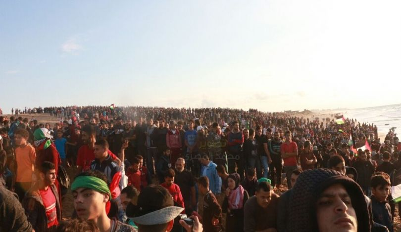 Striscia di Gaza, 10 palestinesi feriti dalle forze israeliane durante Grande Marcia del Ritorno