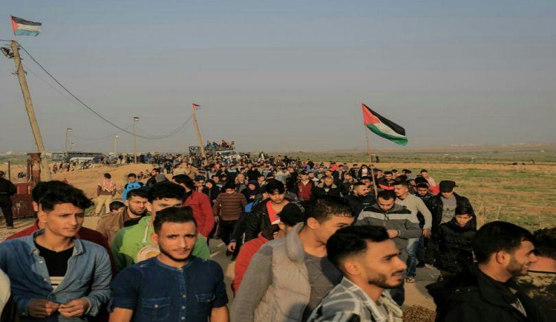 Striscia di Gaza, 36° venerdì della Grande Marcia del Ritorno: 28 Palestinesi feriti dalle forze israeliane