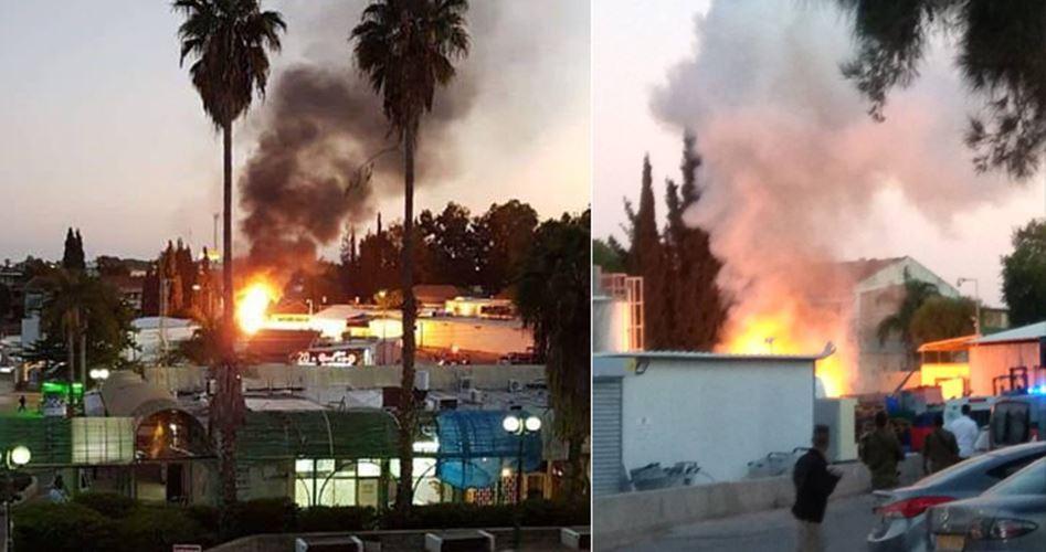17 israeliani feriti da lancio di razzi gazawi