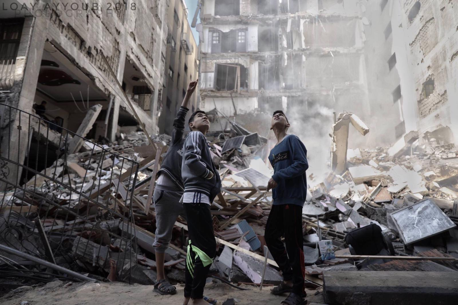 Striscia di Gaza, 3 giorni di distruzione israeliana