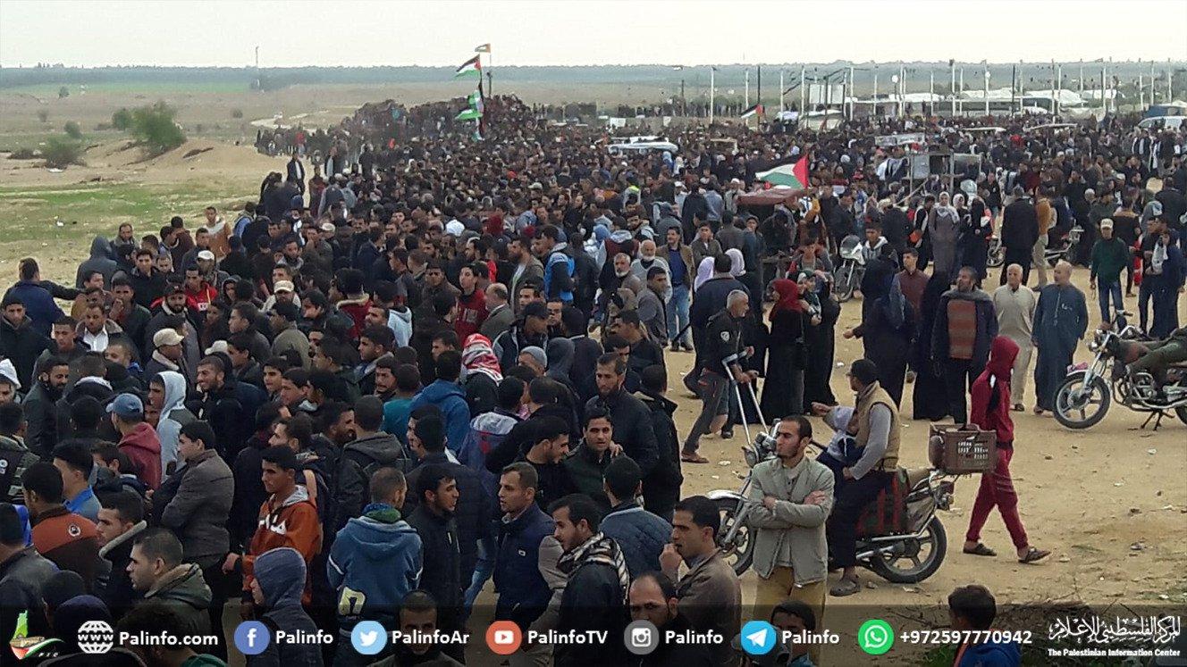 Striscia di Gaza, Grande Marcia del Ritorno: 75 Palestinesi feriti