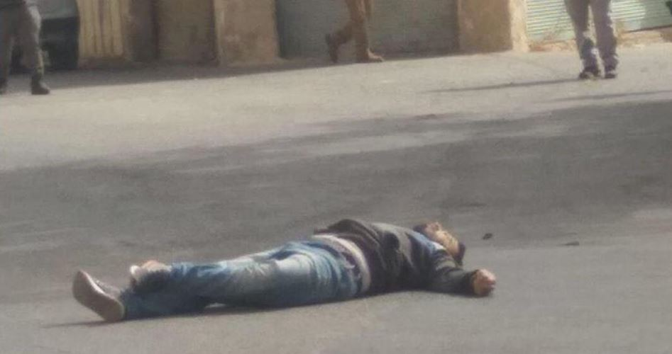 Giovane palestinese ucciso a sangue freddo dai soldati israeliani vicino a Hebron