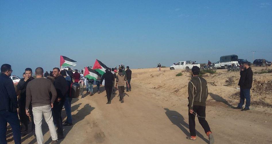 Striscia di Gaza, 47 palestinesi tra feriti e asfissiati dalle forze israeliane durante manifestazione