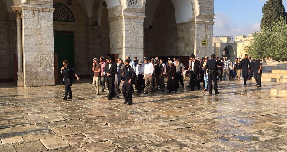 Gerusalemme, decine di coloni e forze israeliane invadono al-Aqsa