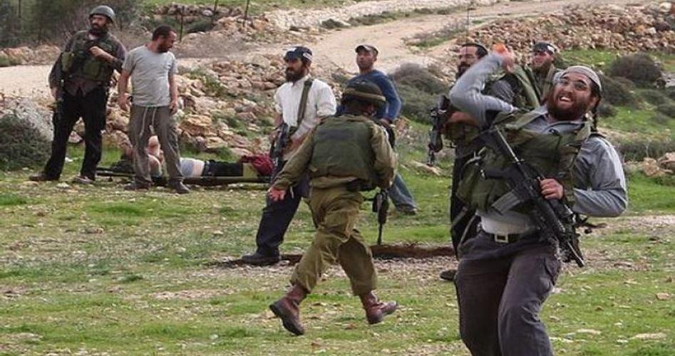 Anziano pastore palestinese ferito da orda di coloni