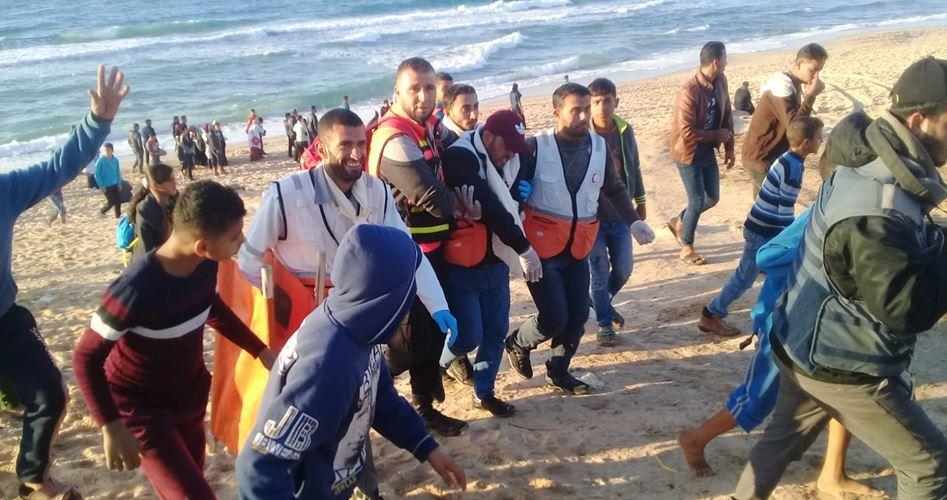 Striscia di Gaza, 11 Palestinesi feriti durante 19ª Marcia navale settimanale anti-assedio