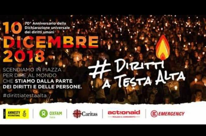 Giornata mondiale per i Diritti Umani: manifestazione per la Palestina a Milano