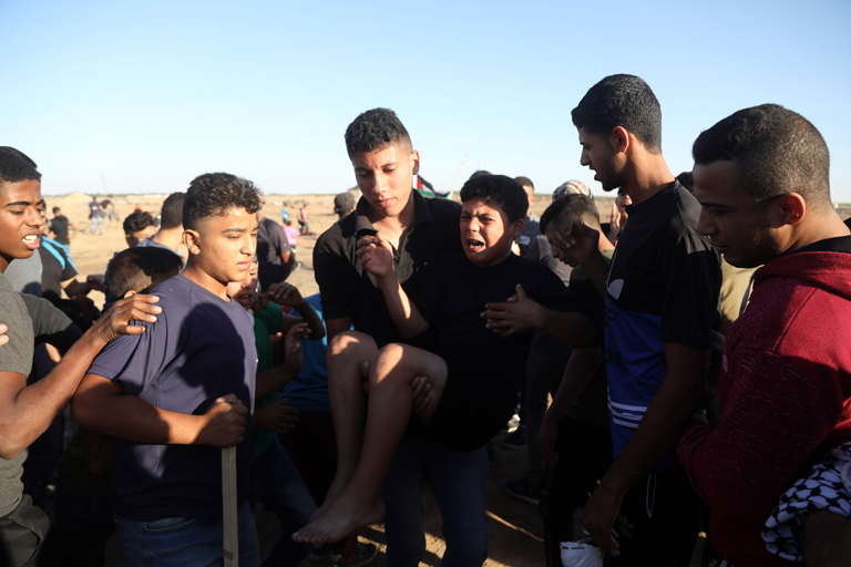 Bilancio 2018: la forza letale ha prevalso contro i bambini palestinesi