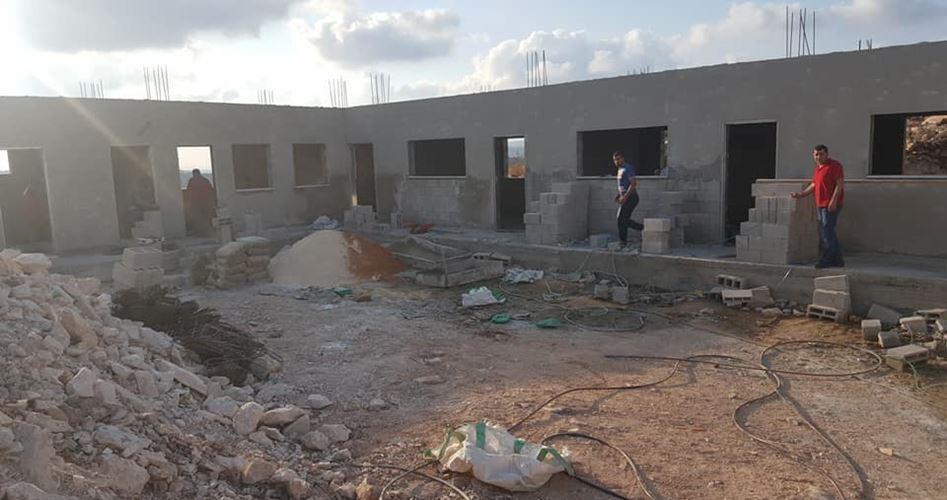 IOF emettono ordine per demolizione di scuola palestinese