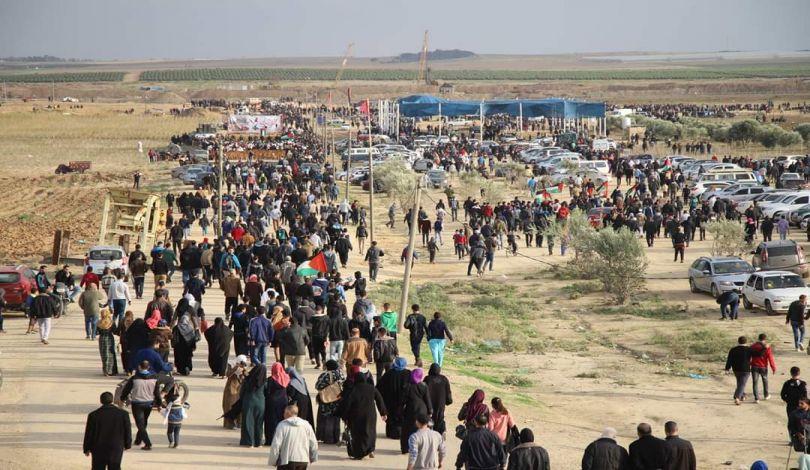 Striscia di Gaza, Grande Marcia del Ritorno, 15 Palestinesi feriti dalle forze israeliane