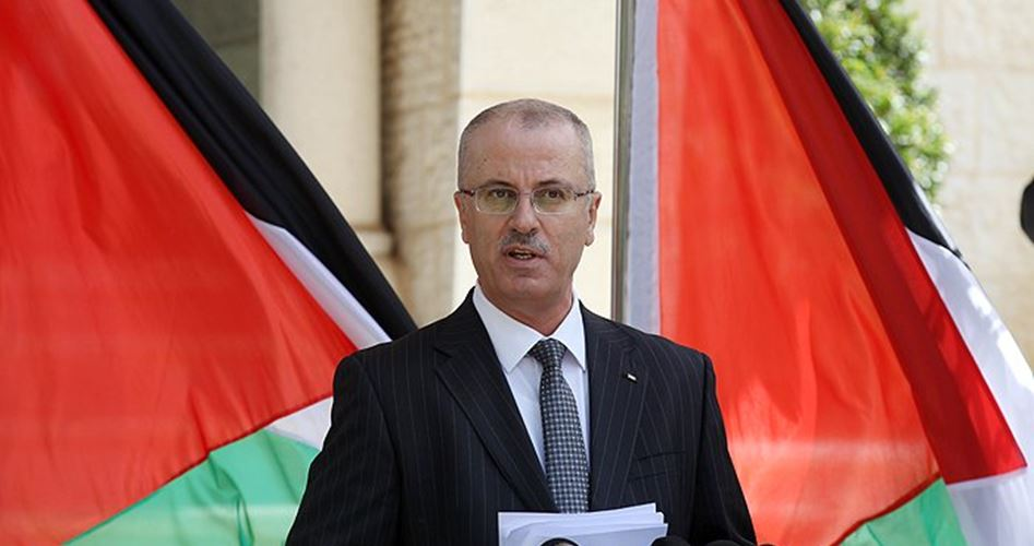 Il premier dell'ANP, Hamdallah, si dimette
