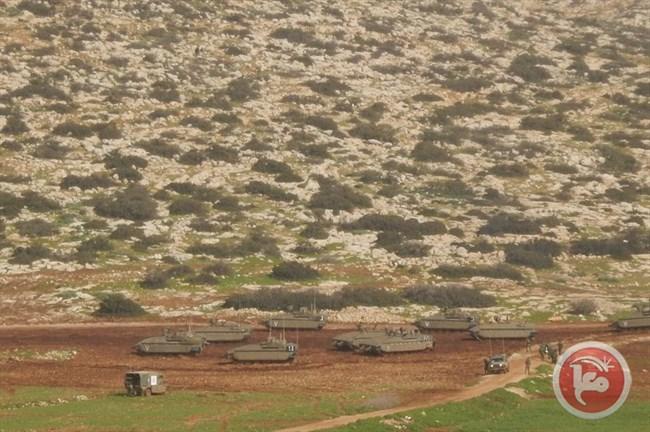 A Tubas evacuate 13 famiglie per addestramenti militari israeliani
