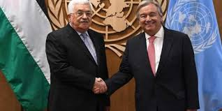 Abbas incontra Gutierres all'ONU