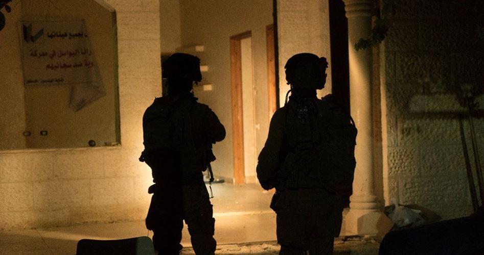 Le forze di occupazione arrestano un bambino di 13 anni
