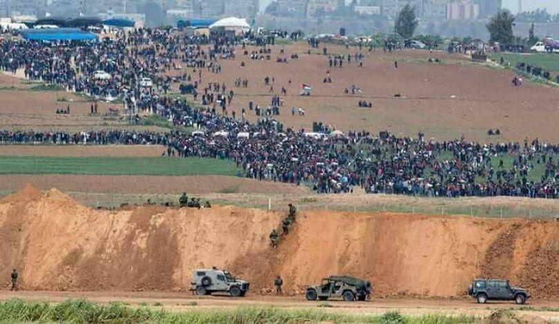 Striscia di Gaza, convocata la 46ª Marcia del Ritorno