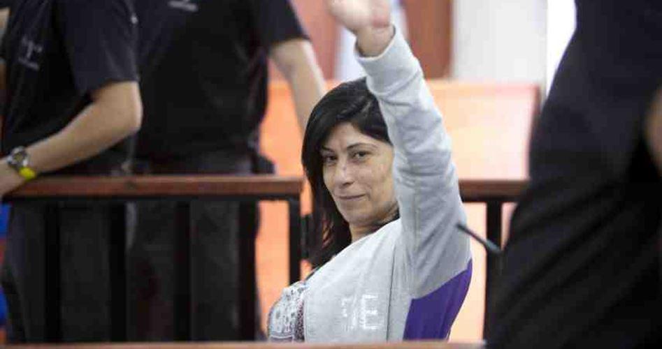 La parlamentare palestinese Khalida Jarrar scarcerata dopo 20 mesi di detenzione amministrativa