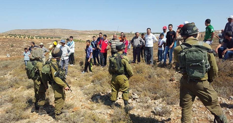 Adolescente palestinese ferito da soldati israeliani