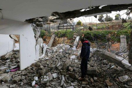 """OCHA: """"A gennaio, Israele disloca 44 Palestinesi"""""""
