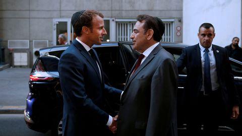 Macron afferma che l'antisionismo è una forma di antisemitismo