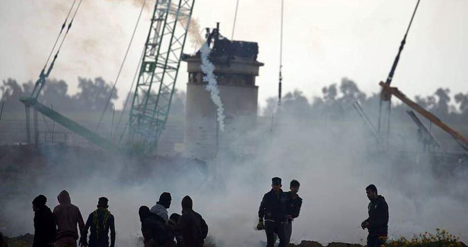 17 palestinesi feriti da Israele in manifestazioni a Gaza