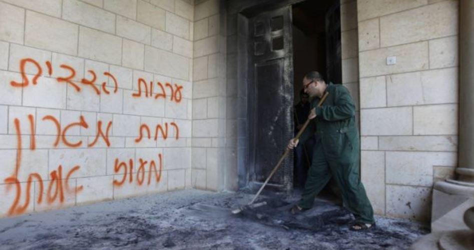 Coloni israeliani attaccano proprietà palestinese a Betlemme